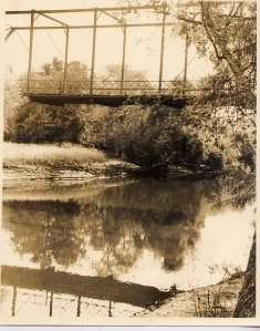 """The supposedly haunted Bellamy Bridge in Marianna, FL served as my setting for """"Cora's Crossing"""" (Click on the graphic to see the book.)"""