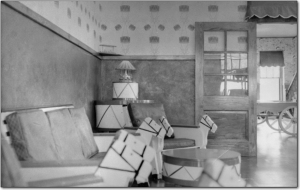 1950s Interior view of one of the cottages - State Archives of Florida, Florida Memory, http://floridamemory.com/items/show/258653