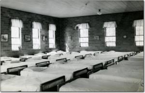 Dorm interior some time prior to 1959 - State Archives of Florida, Florida Memory, http://floridamemory.com/items/show/258560