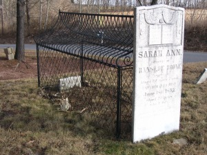 Sara Ann grave in PA. Bob Salerni photo.