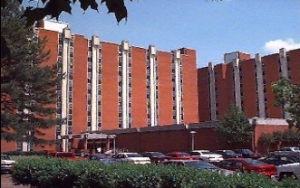 The dorms at Memphis State University (now U of M) where Phillip and Anna meet.