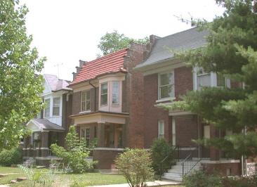 The Skinker-DeBaliviere neighborhood.