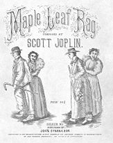 First edition cover of the Maple Leaf Rag - Wikipedia photo