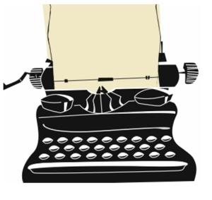 typewriterclipart