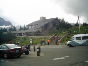 Logan Pass Visitor Center - M. R. Campbell photo