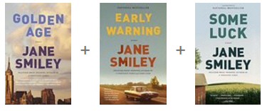"""Jane Smiley's """"Last Hundred Years Trilogy"""" takes a family through a century of real and fictional events as the characters age, marry, have children and pass away. New real-life events played off against the characters and helped keep the books interesting."""
